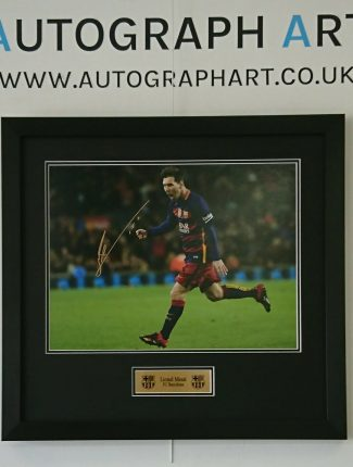 Messi Gold Plaque