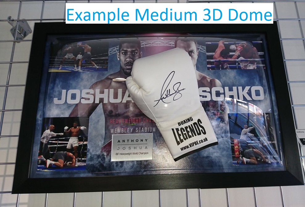 b3dd07eee7d Anthony Joshua Signed Framed Boxing Glove - Autographed Memorabilia